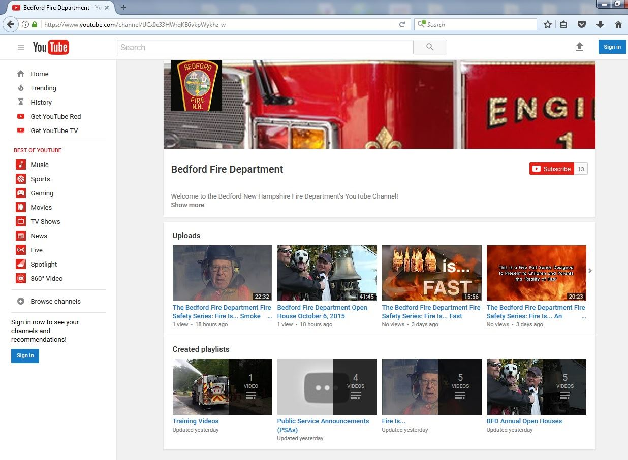youtube channel pic